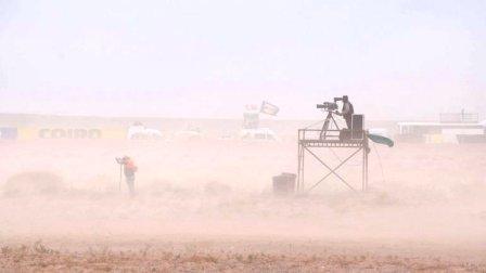 TC - El intenso viento obligó a la cancelación de actividades en Neuquén.