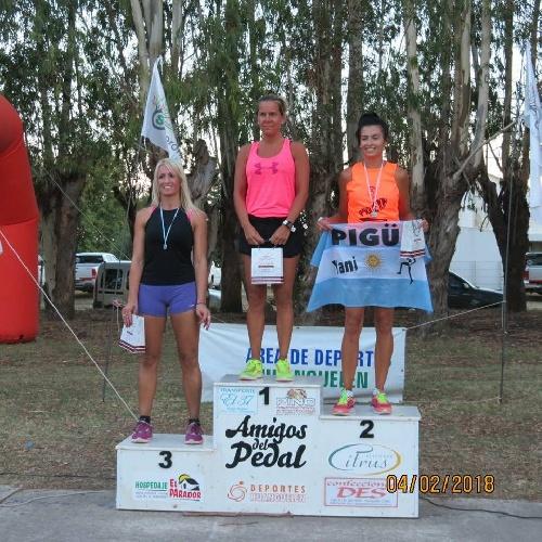 Atletismo - Segundo lugar para Yani Clair en Huanguelen - Avelino Lozano 1° en su categoría.