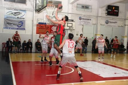Basquet Tres Arroyos - Deportivo Sarmiento con Damián Palma volvió a la victoria.