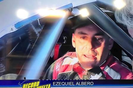Supercar Pampeano - Ezequiel Albero se mantiene en el 3° lugar del campeonato.