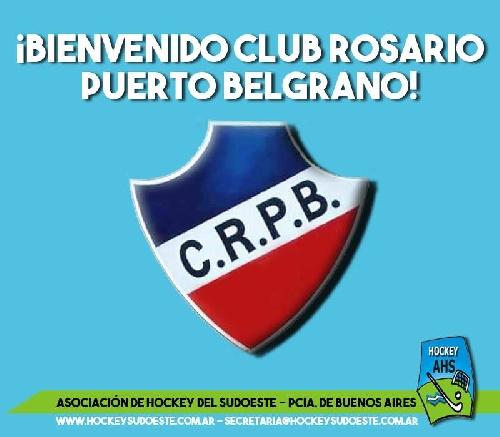 Hockey Femenino - Rosario Puerto Belgrano se suma al torneo de la Asociación.