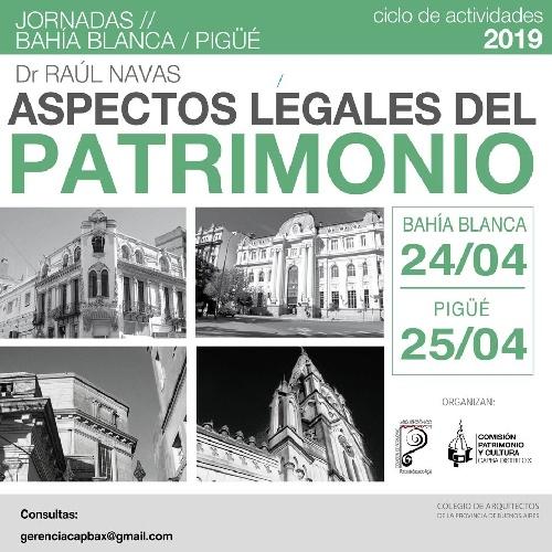Charla abierta a la comunidad sobre Aspectos Legales del Patrimonio Urbano Arquitectónico