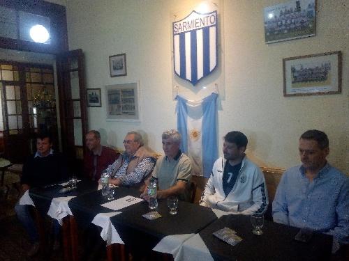 Club Sarmiento inaugura la cancha auxiliar  y continúa con otras importantes obras