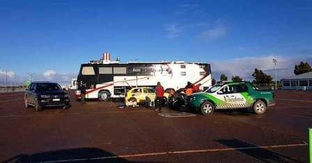 El autódromo de Viedma tuvo pruebas el pasado fin de semana.