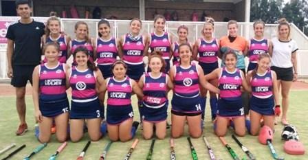 Hockey Femenino - 8° puesto para el Cef 83 Sub 16 en Provincial Bahía Blanca.