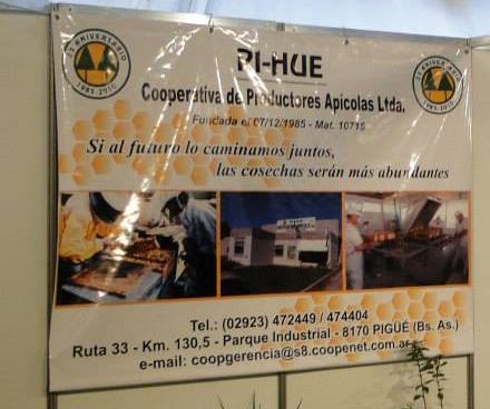 Empresa Francesa e Ing. Vazquez del Ministerio de Agroindustria de la Nación en la Coop. Apícola PI - Hué