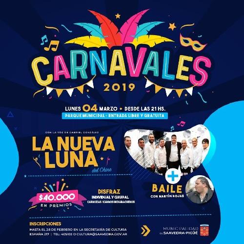 Carnavales en Pigüé y las localidades del Distrito