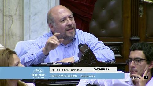 Fabio Quetglas diputado nacional radical de CAMBIEMOS visitará Pigüé