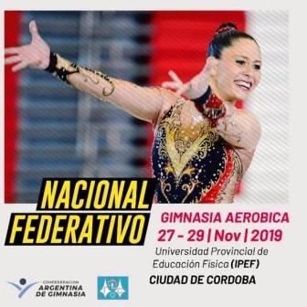 Le Corps Gym presente en Córdoba en la última competición del 2019.
