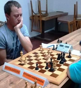 Ajedrez - Palma y Bernardini avanzan en las eliminatorias del club local.