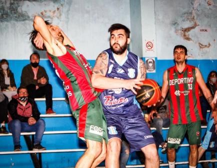 Basquet Tresarroyense - Deportivo Sarmiento con Partemi venció a Club de Pelota.