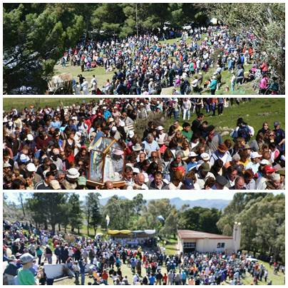 Miles de fieles y devotos de la Virgen se dieron nuevamente cita en la Ermita de Saavedra