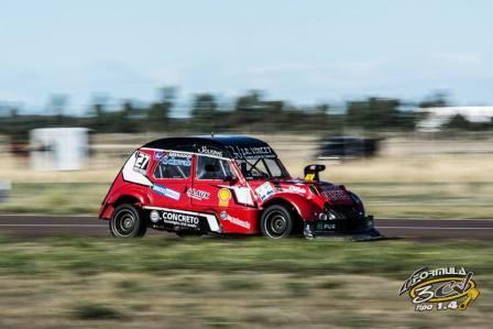Fórmula 3cv - Corridas dos fechas, Federico Vincet se mantiene 2° en el campeonato.