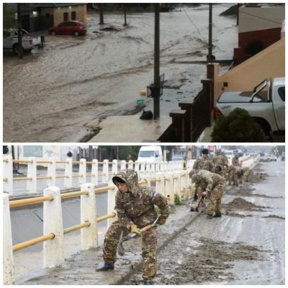 """Declaran a la ciudad de Comodoro Rivadavia """"zona de desastre"""" en Chubut"""