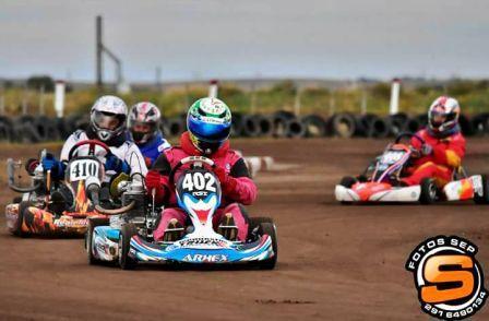 Superkart - Se corrió la 7ma fecha del campeonato en Saavedra.