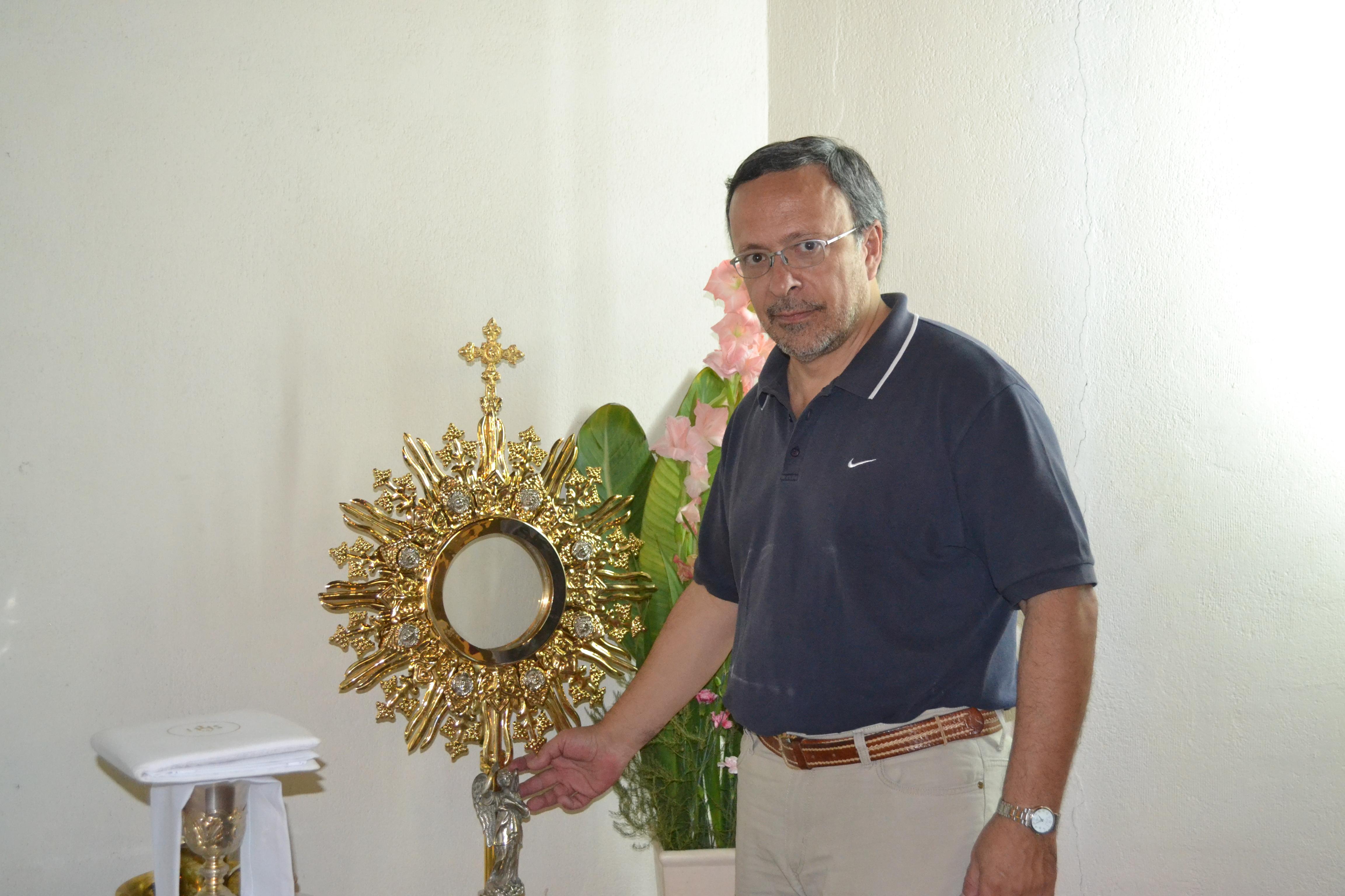 Daniel Salvucci, misionero de Nuestra Señora del Santísimo Sacramento en Pigüé