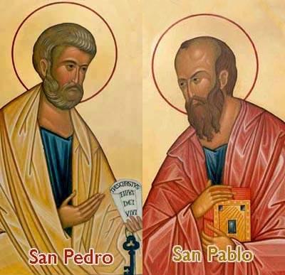 Invitacion a la comunidad para la Fiesta Patronal Capilla Santos Pedro y Pablo de Pigüé