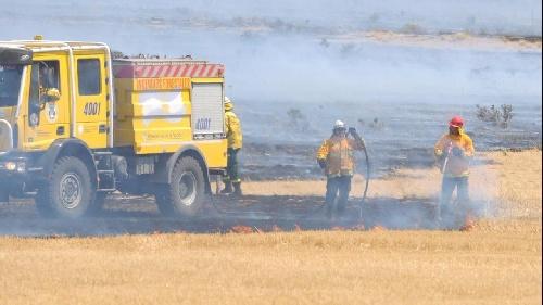 Un bombero voluntario de Villa Ventana está en terapia intensiva