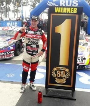 Turismo Carretera - El Ford de Mariano Werner fue el mas veloz de Rafaela.