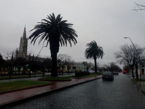 Datos del tiempo, registro de lluvia y pronostico para Pigüé y zonas aledañas,