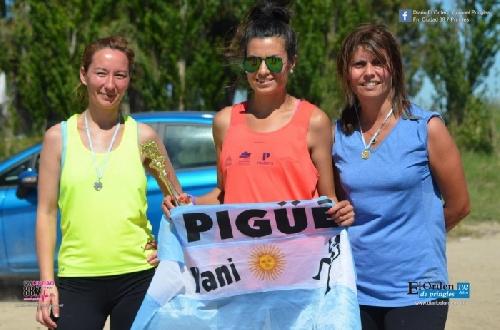 Atletismo - Yani Clair 2da en los 6 km del Puente La Gaviota de Coronel Pringles.