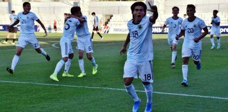 Sudamericano Sub 15 - Argentina empató ante Ecuador en un tanto.