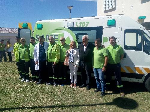 Pigüé: presentaron el convenio municipal con SAME que incluye nueva ambulancia  con moderna tecnología