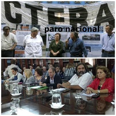 Primer dia de la huelga docente en el Distrito de Saavedra Pigüé
