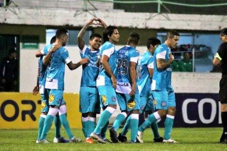 Copa Paraguay - Marcos Litre festeja con Santaní el acceso a 8° de final.