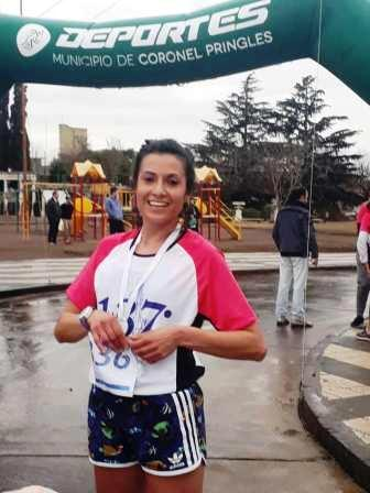Atletismo - Yani Clair ganó carrera de 14 km en Coronel Pringles.