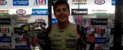 TC Mouras - Santiago Andreoli compañero de Alaux, 18° en la primera del año. Paolini el ganador.
