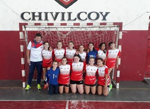El equipo de hándball de Las Cefitas  es semifinalista provincial