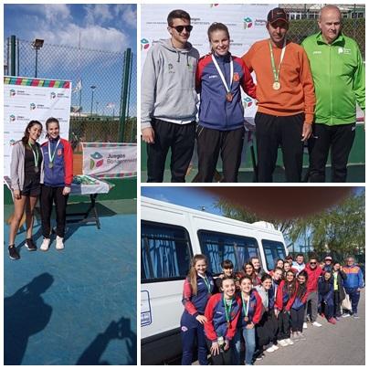 Juegos Juveniles Bonaerenses: medalla de oro en tenis y de bronce en Handball