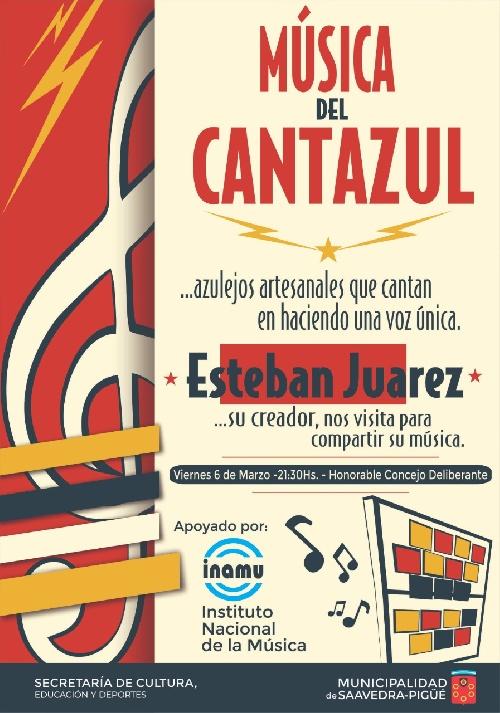 UNA PROPUESTA MUSICAL DIFERENTE CON CANTAZUL EN EL HCD