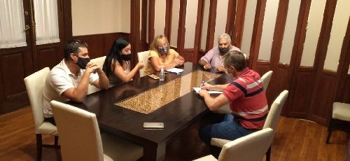 El Intendente Gustavo Notararigo se reunió con la Comisión de Fomento del Barrio Federico Ducos
