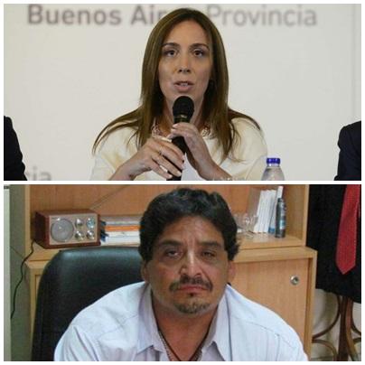"""El día que María Eugenia Vidal trató de """"mafiosa"""" a la UOCRA de Bahía Blanca. La denunciaron y ahora sus líderes están presos."""