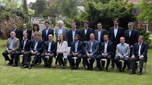 Vidal presentó su gabinete
