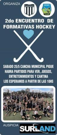 Hockey - Club Sarmiento y un encuentro de formativas