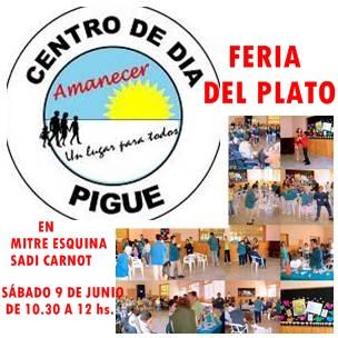 Feria del plato del Centro de Dia Amanecer de Pigüé