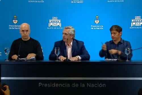 Coronavirus: El presidente Alberto Fernández confirmó que se suspenden las clases y se cierran las fronteras hasta el 31 de marzo