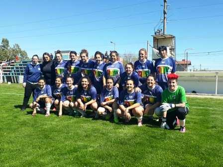 Fútbol Femenino - Deportivo Argentino venció a las Aceiteras de Huanguelen.