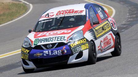 TN - Previo a la competencia en San Nicolás, Gómez Fredes probo su auto en Bs As.