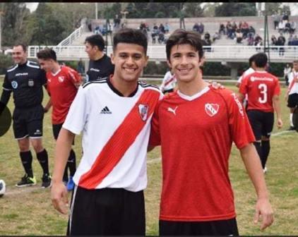 Afa - Inferiores - Gabriel Mercado y Tomás Prost se enfrentaron en 8va división.