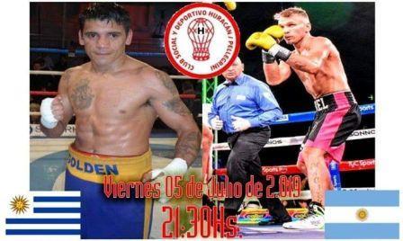 Abel Adriel combatirá en la noche del viernes ante Carlos Chaparro.