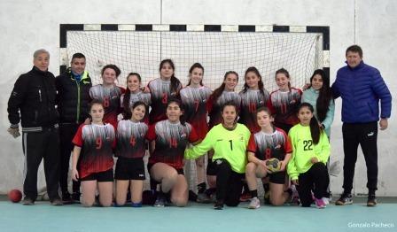 Handball - Quinto puesto obtuvieron las menores de la Asociación en Chapadmalal
