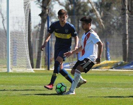 AFA - Inferiores - Gabi Mercado enfrentó a Boca con River Plate.