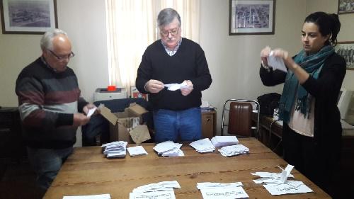 Concejales de Unidad Peronista con el Presupuesto Participativo de Arroyo Corto
