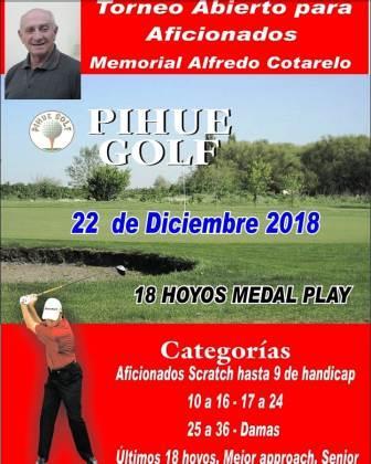 Golf - Torneo Abierto Memorial Alfredo Cotarelo