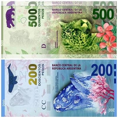 SIN ANIMALES: asi serán los nuevos billetes como lo habia anticipado el presidente Alberto Fernandez