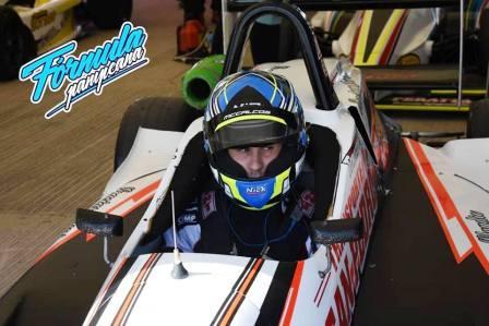 Formula Pampeana - Franco Venchi clasificó 10° en las pruebas sabatinas.
